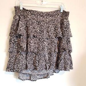 Torrid white/black skirt